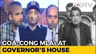 As BJP Tackles Demanding Goa Allies, Congress Meets Governor - NDTV