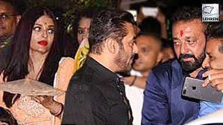 Ambani Brings Salman, Aishwarya And Sanjay Together At His Festive Bash | LehrenTV