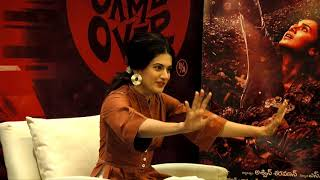Taapsee Pannu about Game Over - idlebrain.com - IDLEBRAINLIVE