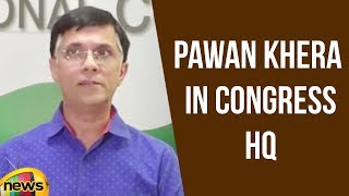 AICC Press Briefing By Pawan Khera In Congress HQ | Latest News Updates | Mango News - MANGONEWS