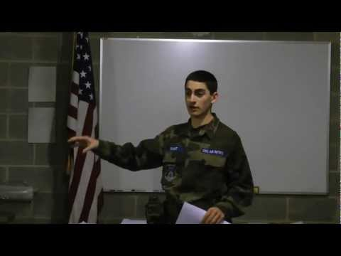 Motivational Speech- Civil Air Patrol