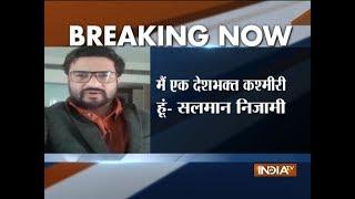 Gujarat polls: Salman Nizami, criticised by PM Modi, claims to be patriot - INDIATV