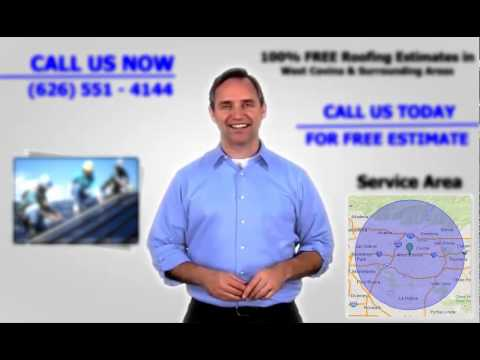 Roofers West Covina - FREE Estimates | Call Us NOW