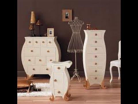 Cómo decorar, pintar, y transformar sus muebles