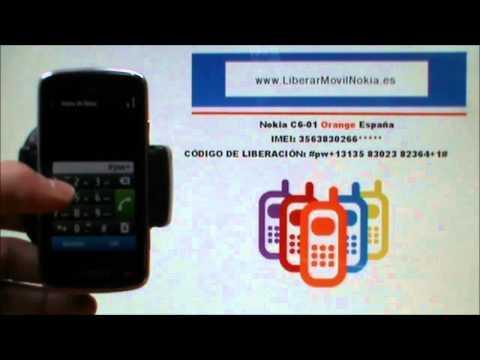 Liberar Nokia c6-01 Orange