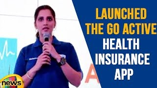 Sania Mirza Lunched The Go Active Health Insurance App in Delhi | Mango News - MANGONEWS