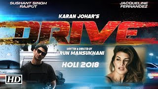 First TEASER Poster | Sushant- Jacqueline's 'DRIVE' | Thrilling - BOLLYWOODCOUNTRY