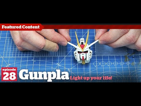 Gunpla - Episode 28 - Gundam - Tutorial - Building - Kit reviews