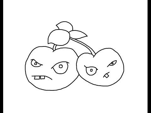 Dibujos para colorear de plants vs zombies garden warfare - Imagui