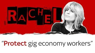 Rachel Johnson on gig economy workers - SKYNEWS
