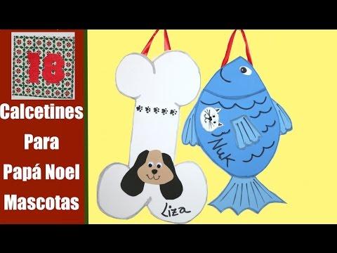 Calcetin de Navidad para mascotas