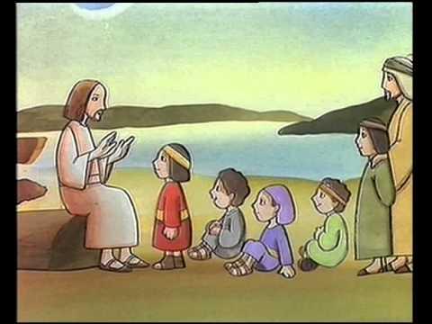 Parabola de Jesús y los niños