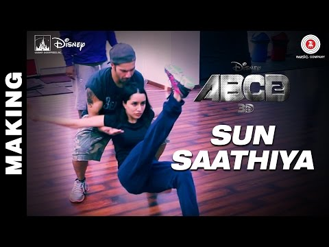 ABCD 2 - Making of Sun Saathiya
