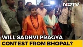 Sadhvi Pragya, Malegaon Blast Accused, Joins BJP, Says Will Contest Polls - NDTV