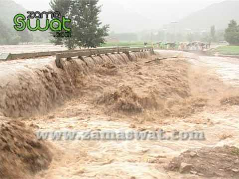 Flood in Swat Streams