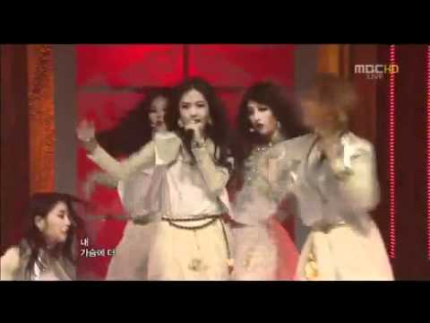 [120414] 4Minute - Volume Up [Music Core Comeback Stage]