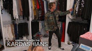 Kim Kardashian West & Jonathan Cheban Raid Khloe's Closet - EENTERTAINMENT