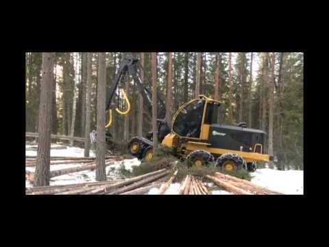 Tigercat 1135 harvester
