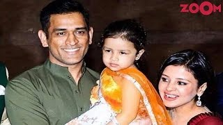 Dhoni's Daughter Ziva Steals All The Limelight At Praful Patel Daughter's Sangeet Ceremony & More - ZOOMDEKHO