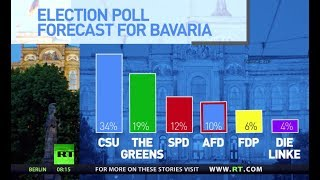 Will election in Bavaria bring end to Merkel's coalition? - RUSSIATODAY