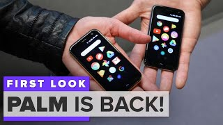 Palm is back with what looks like the tiniest iPhone ever - CNETTV