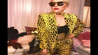 In Graphics: Lady Gaga wears Tiger Print in her latest Instagram pictures - ABPNEWSTV