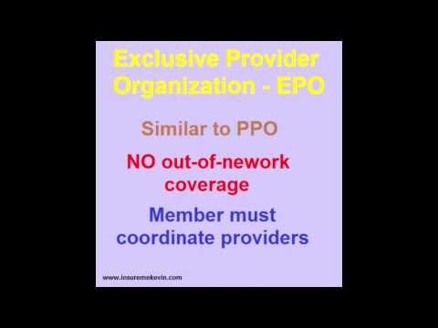 The Basic PPO, EPO & HMO Health Plan Models