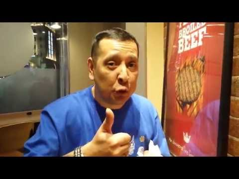 Japandaman tackles the Burger King black burger