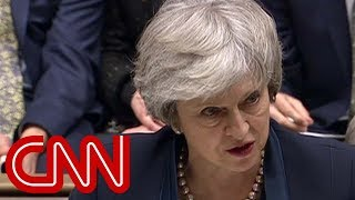 Theresa May's Brexit deal crushed, Corbyn calls for no confidence vote - CNN