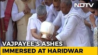 After Haridwar Immersion, Lucknow Cavalcade Planned For Vajpayee's Ashes - NDTV