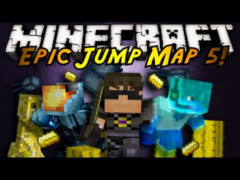 Minecraft: Epic Jump Map Butter Edition Part 2!