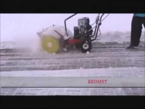 ZAMIATARKA Z NAPĘDEM odsniezarki odsniezarka www.redmet.pl