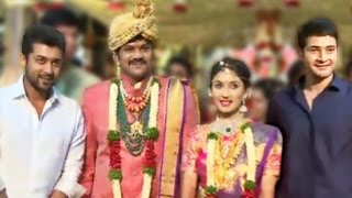 Celebs At Manchu Manoj - Pranathi Reddy Wedding | Mahesh Babu | Suriya - LEHRENTELUGU