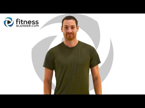 Upper Body Strength & Cardio Interval Workout (with Low Impact Mods)