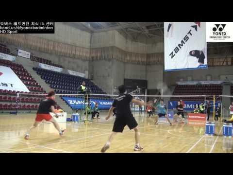 Badminton Training Lee Yong Dae Korea Olympic Rio 2016