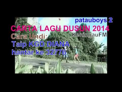 patauboys home studio: Carta Lagu Dusun Keningau FM 2014 'Okon Ko Yoku' by: Diana Marcella