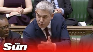 Brexit secretary Stephen Barclay opens debate ahead of tonight's vote - THESUNNEWSPAPER