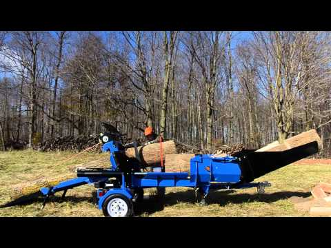 Wallenstein WP Firewood Processor