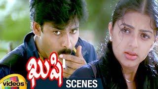 Pawan Kalyan Trolls Bhumika | Kushi Telugu Movie Scenes | Ali | Kushi Movie Best Comedy Scene - MANGOVIDEOS