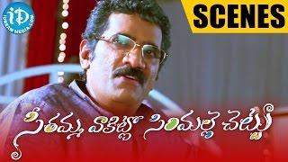Seethamma Vakitlo Sirimalle Chettu Movie - Rao Ramesh insults Venkatesh - IDREAMMOVIES
