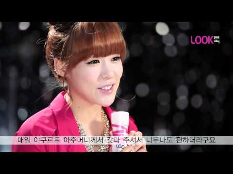 120624 SNSD Tiffany Yakult Promotion video