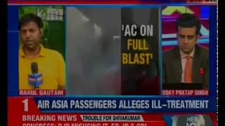 Air Asia passengers alleges ill-treatment; Kolkata-Bagdogra flight grounded for over 4 hours - NEWSXLIVE