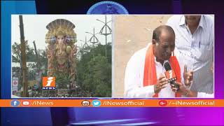 More Then 20 Thousand Ganesh Idols To Immersion at Tank Bund From MJ Market | iNews - INEWS