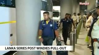 Sri Lankan team arrives in India for ODI series - NDTV
