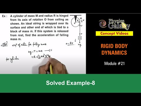 Solved Example on Rotational Motion (ROT12X4)