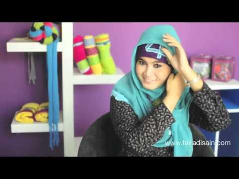 Hijab Tutorial Faira | Kreasi Jilbab Faira BA - 120