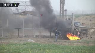 Clashes on Israel-Gaza border: At least 20 injured - reports - RUSSIATODAY