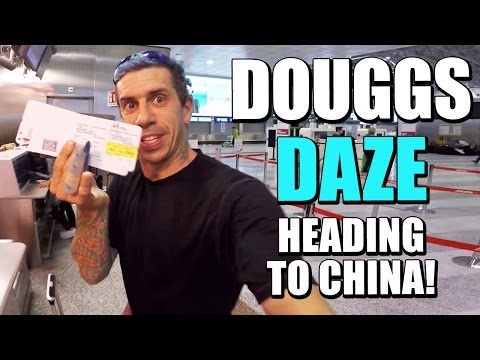 HEADING TO CHINA | DOUGGS DAZE | EP 5