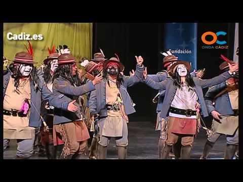 La agrupación Abriendo camino llega al COAC 2014 en la modalidad de Comparsas. Primera actuación de la agrupación para esta modalidad.