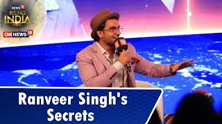 Ranveer Singh Shares Some Interesting Details About His Career |  #News18RisingIndia Summit - IBNLIVE